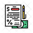Financial Agreement Financial Agreement Icon