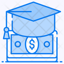 Financial Aid Student Loan Academic Loan Icon