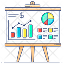 Business Evaluation Financial Analysis Economic Analysis Icon