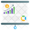 Business Growth Financial Analysis Financial Report Icon
