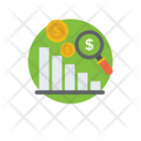 Business Strategy Data Analysis Business Performance Icon