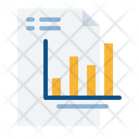 Financial Analysis Report Icon