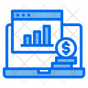 Financial Analysis Website Icon