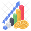 Financial Analytics Financial Analysis Data Analytics Icon