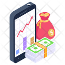 Business App Financial App Mobile Application Icon