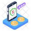 Secure Banking Financial App App Password Icon