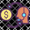 Financial Assistance Finance Service Finance Helpline Icon