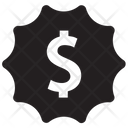 Badge Best Dollar Icon