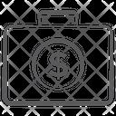 Business Bag Financial Bag Briefcase Icon