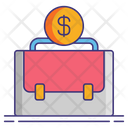 Financial Bag Currency Bag Dollar Bag Icon