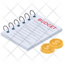 Financial Budget Report Icon