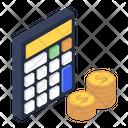 Financial Calculations Business Estimate Calculator Icon