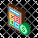 Coin Money Calculator Icon
