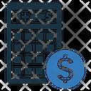 Financial Calculation Calculator Icon
