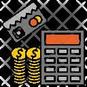 Financial Calculation Icon