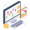 Budget Accounting Accounts Report Financial Calculation Report Icon