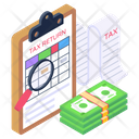 Financial Calculation Report Budget Accounting Accounts Report Icon