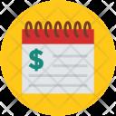 Financial calendar Icon
