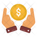 Financial Protection Financial Care Cash Care Icon