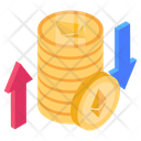 Money Change Financial Change Cash Change Icon