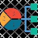 Financial Chart Chain Icon