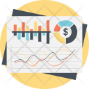 Financial Chart Business Icon