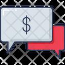 Talk Conversation Chat Box Icon