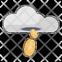Financial Cloud Icon