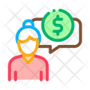 Financial Communication Icon