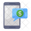 Financial Communication Business Conversation Chatting Icon