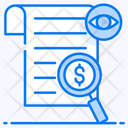 Financial Analysis Financial Control Financial Research Icon