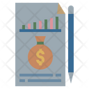 Financial Cost Financial Budget Financial Planning Icon