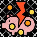 Financial Crisis Saving Icon