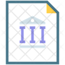 Business Bank Data Icon