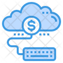 Accounting Cloud Money Icon