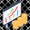 Financial Data Growth Icon