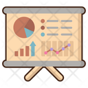 Financial Data Report Financial Report Business Report Icon