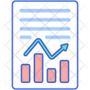 Financial Data Report Icon
