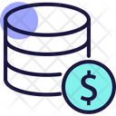 Financial Database Financial Data Accounting Data Icon