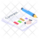 Business Deal Financial Deal Financial Contract Icon