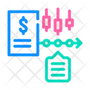 Financial Time Series Icon