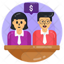 Business Chat Financial Discussion Business Conversation Icon