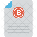 Financial Document Icon