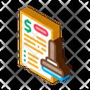 Stamp Document Graphic Icon