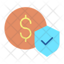 Financial Dollar Security Icon