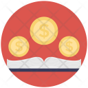 Finance Education Book Icon