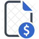 Financial Money File Icon