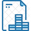 Financial File Document Icon