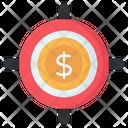 Financial Focus Money Focus Dollar Focus Icon