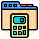 File Calculator Tools Account Icon